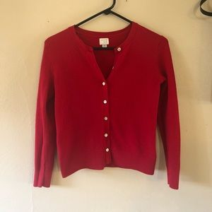 A New Day Red Cardigan